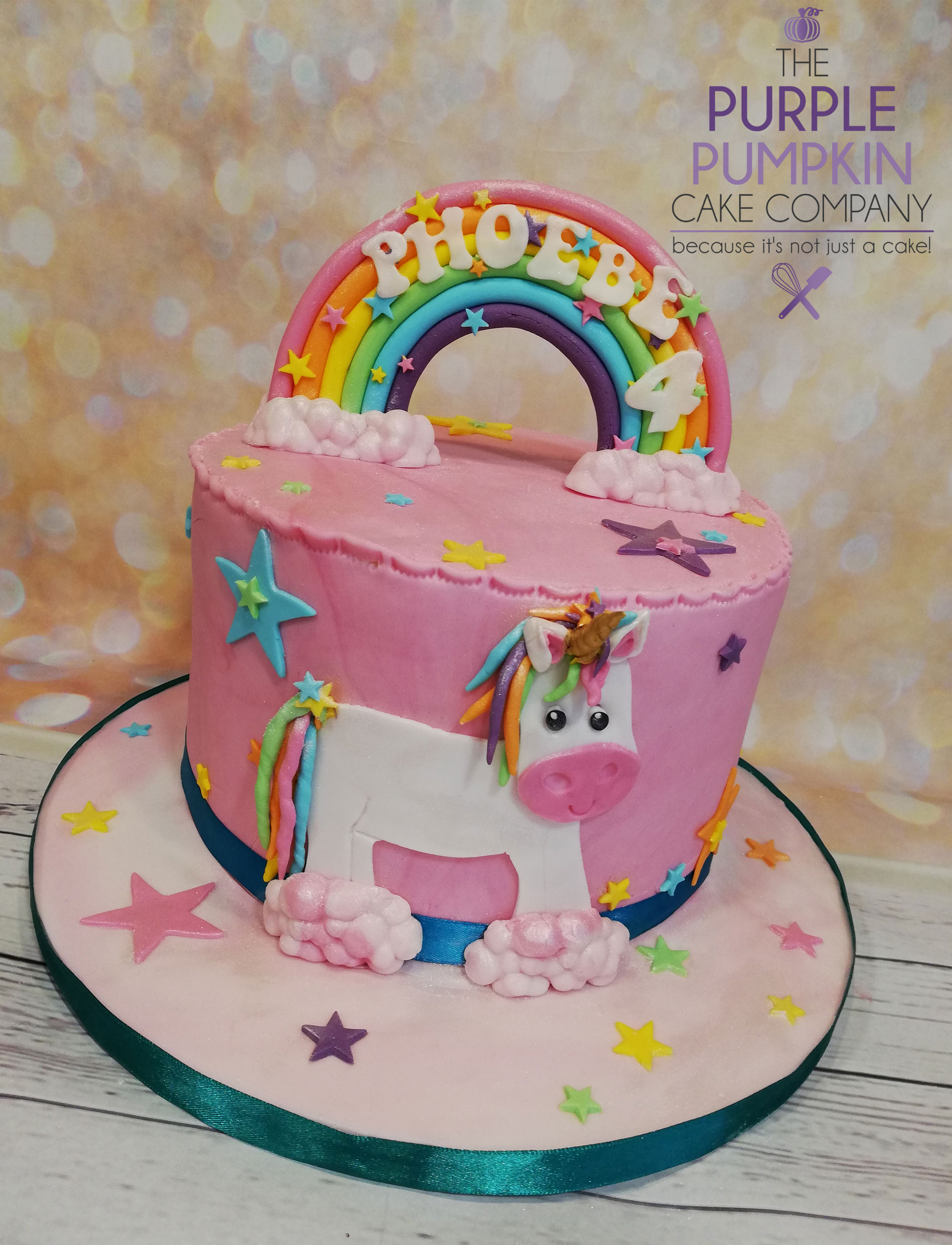 pink unicorn rainbow