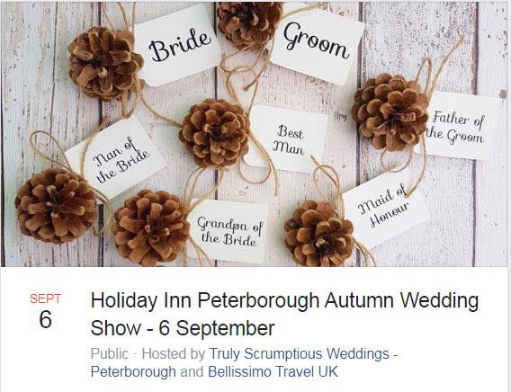 Holiday Inn Peterborough 6th Sept