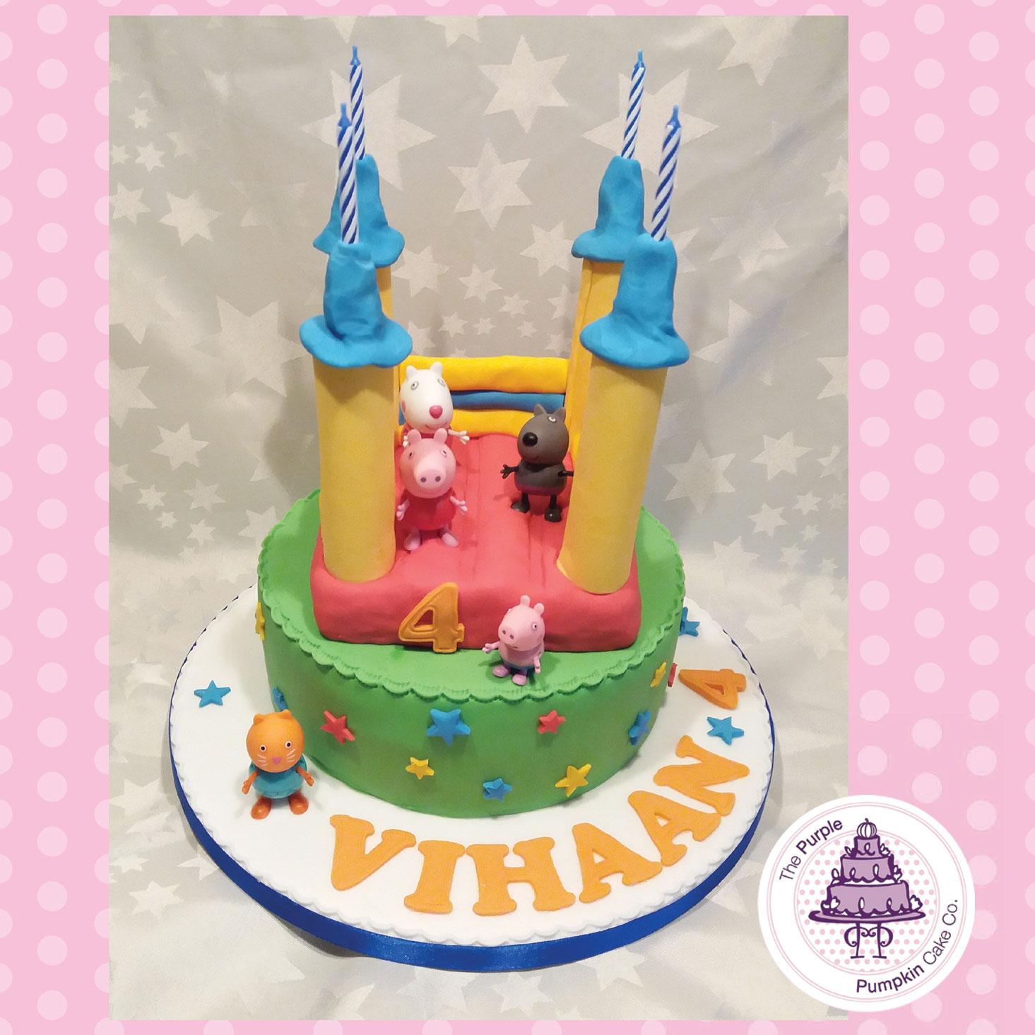 Bouncy castle Peppa