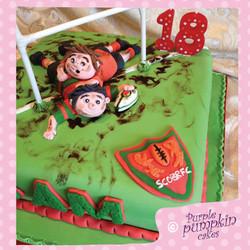 Stamford Rugby Club Cake