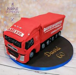 David Harrison Haulage truck cake
