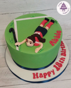 Hockey 18th cake