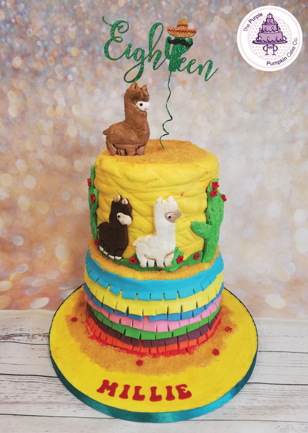 Alpaca trek 18th birthday