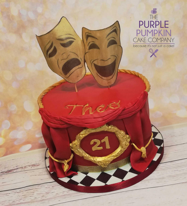 Theatrical cake