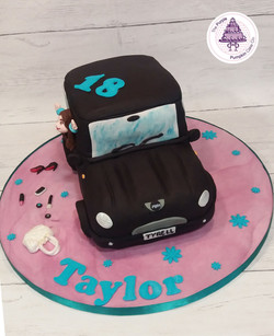 mini make-up cake