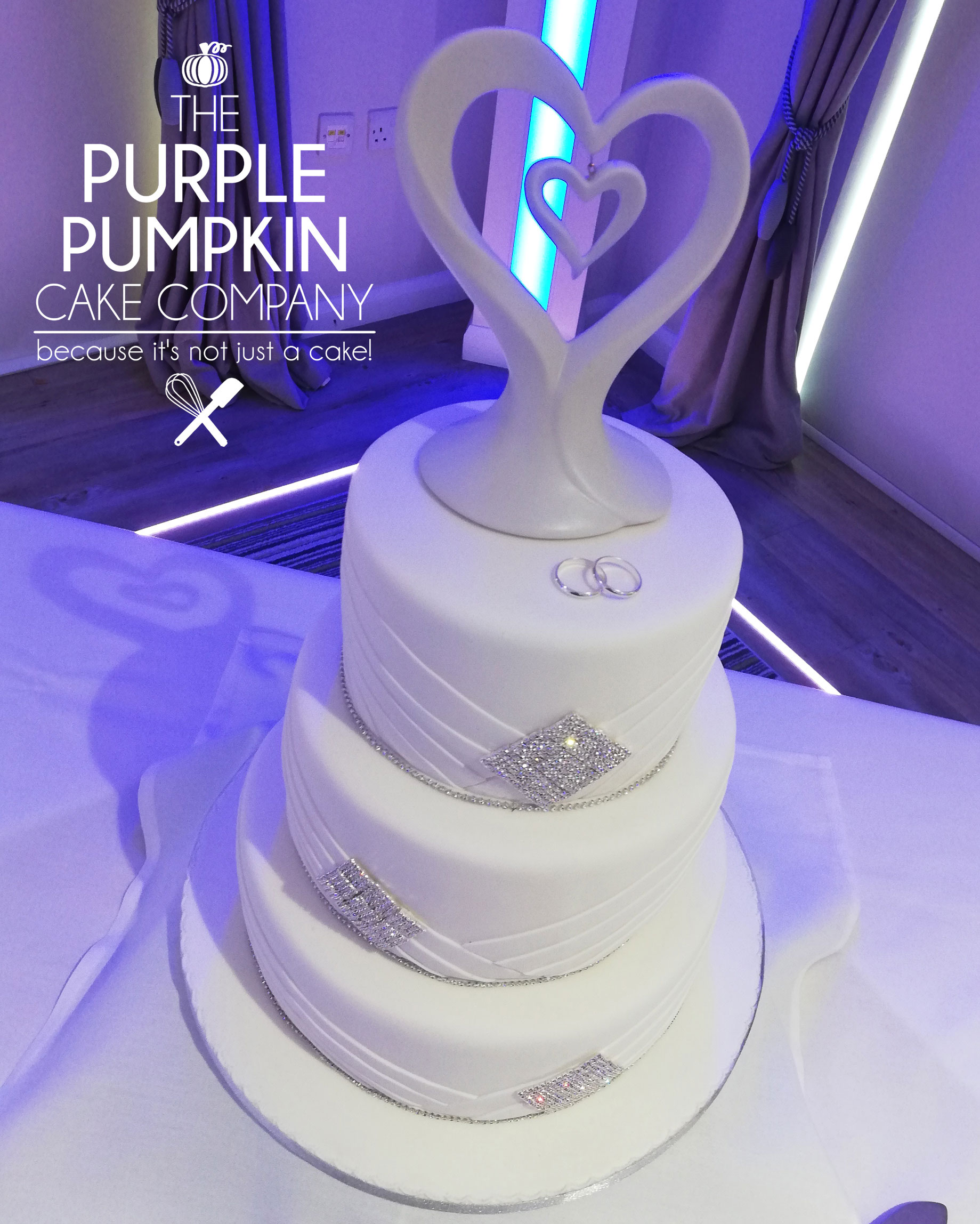 Diamante wedding