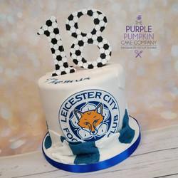 Leicester football cake