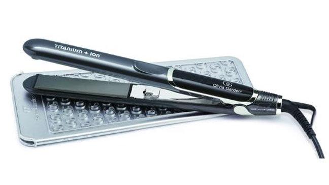 Olivia Garden PRO Titanium & Ion 25mm Professional Flat Iron Hair Straighteners
