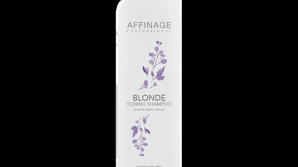 Affinage Blonde Toning Shampoo 375ml