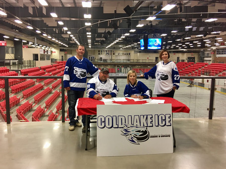 Assumption Launches New Hockey Program with Cold Lake Ice