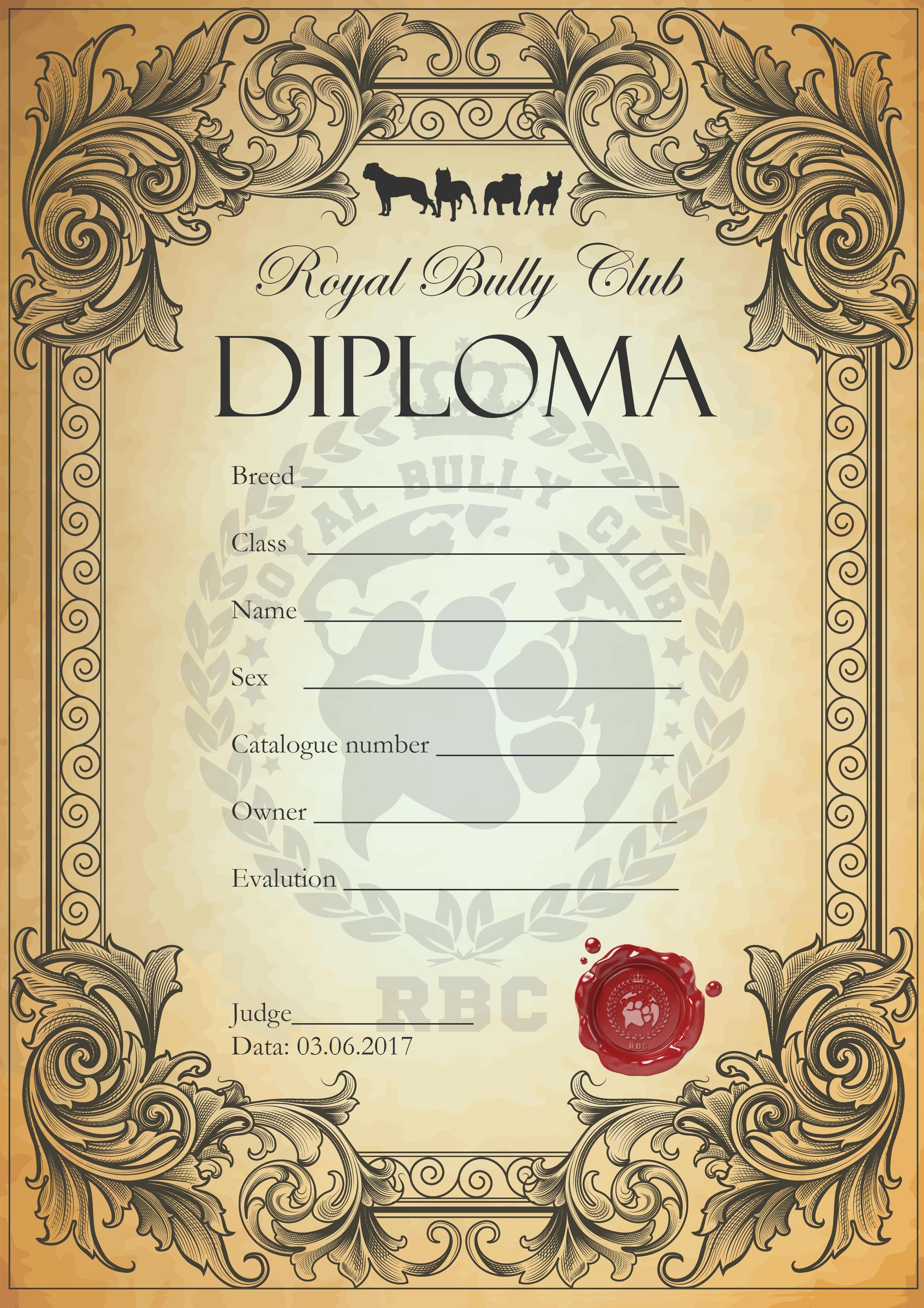 Diploma RBC