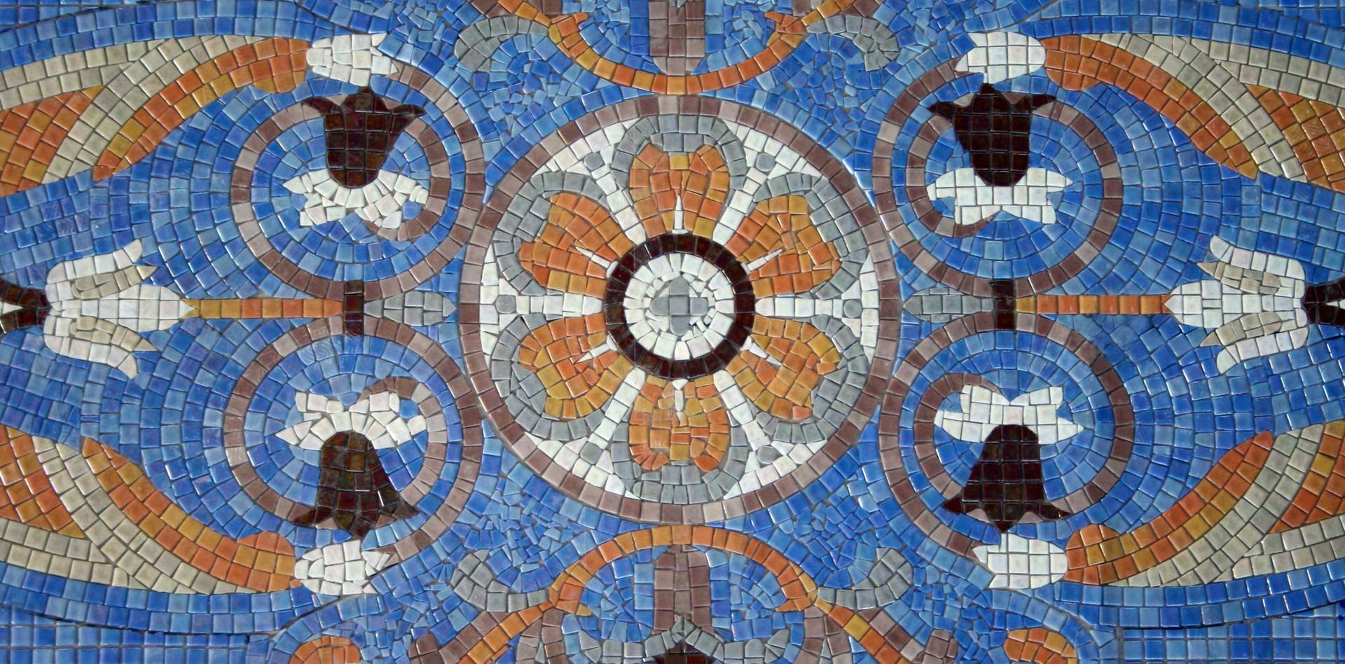 Handmade mosaics