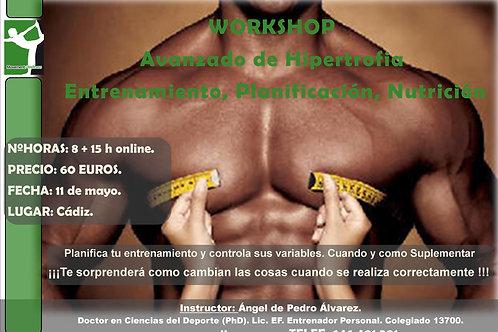 Workshop Avanzado Hipertrofia