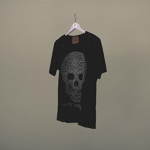 Camiseta IN MY DEFENSE negra / gris