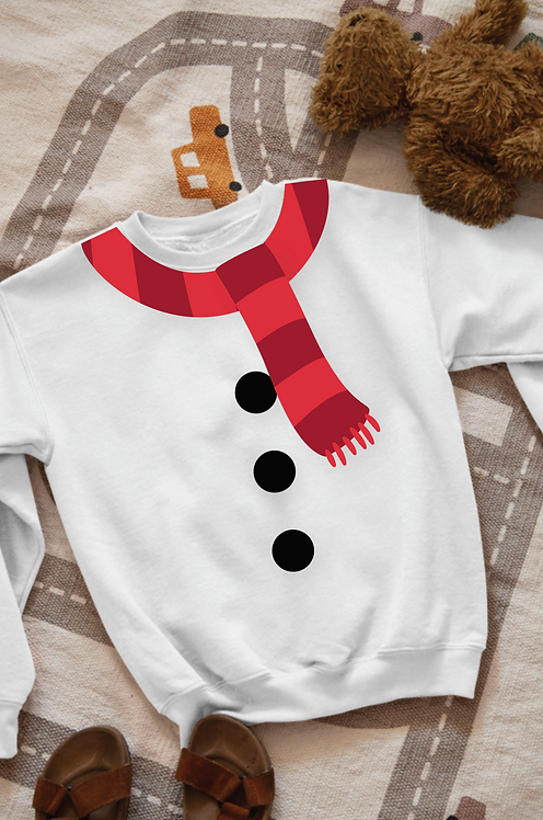 Kid's Snowman Sweatshirt