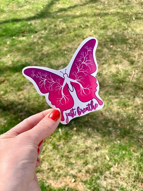 Cystic Fibrosis Awareness Sticker