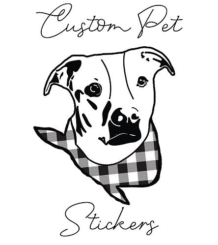 Custom Pet Stickers