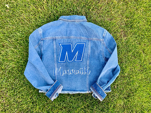 Custom College Denim Jacket