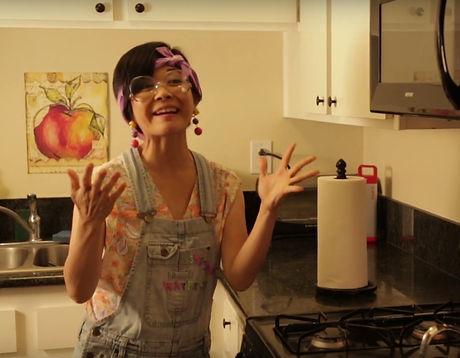Keiko Agena as Delia in Superfluous the series.