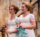 Siobhan Doherty and Elizabeth Telford in Love's Labor's Lost at Utah Shakespeare Festival.