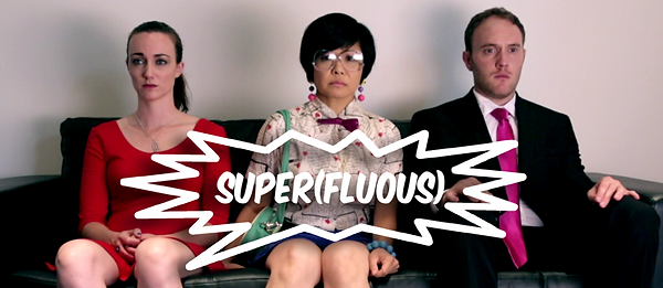 Siobhan Doherty, Keiko Agena, and Sean Harrigan in Super(fluous) the series.