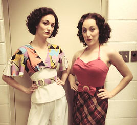 Siobhan Doherty and Kaitlin Mills in Anything Goes at Utah Shakespeare Festival.