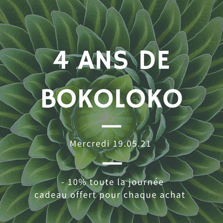 Bokoloko fête ses 4 ans!