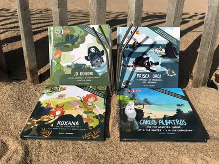 Présentation des livres pour enfants Jarvin Crew