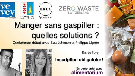 Béa Johnson et Phillipe Ligron nous parlent du gaspillage alimentaire !
