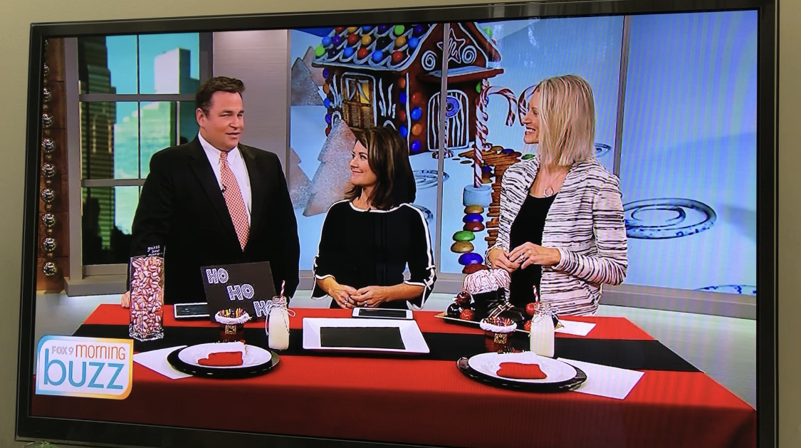 Kids Christmas Party on Fox 9 Morni