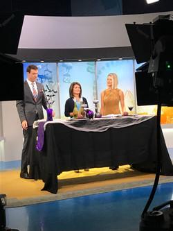 Halloween Segment on Fox 9 Morning B