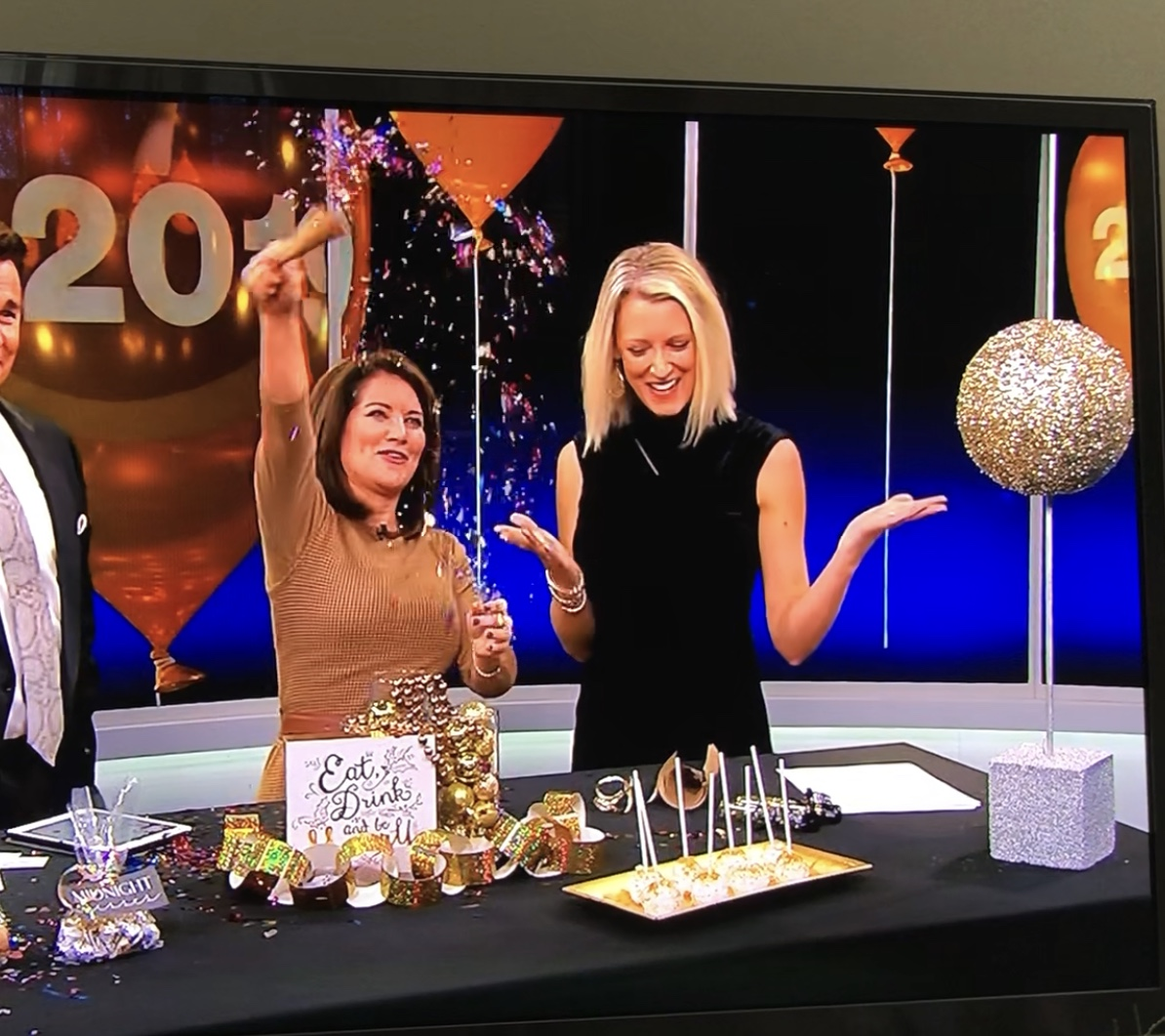 New Years Eve Segment on Fox 9 Morni