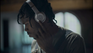 Beats by Dre.