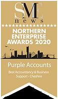 Purple Accounts Winner Northern Enterprise Awards 2020 Winners