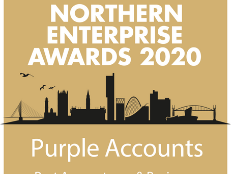 Purple Accounts wins Northern Enterprise Award