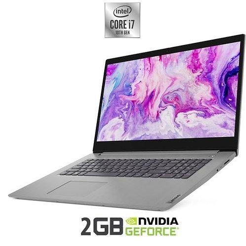 Lenovo ideapad 3: Ci7-10510U, 12GB, 1TB HDD + 256GB SSD, NVIDIA GeForce MX330 2G