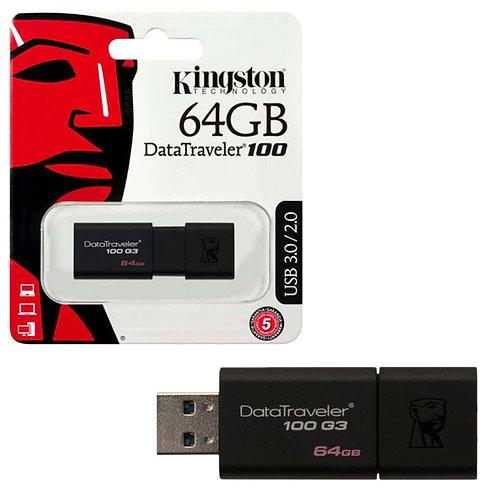 Flash Memory Kingstone 64 GB