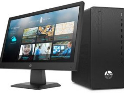 HP 290 G4 Microtower-1C6W6EA: Intel Core i3-10100 10th Gen - 3.6 GHz, 6