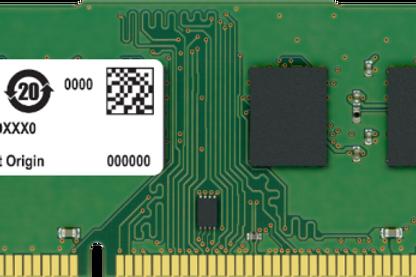 Crucial Ram 4GB DDR3 For PCs
