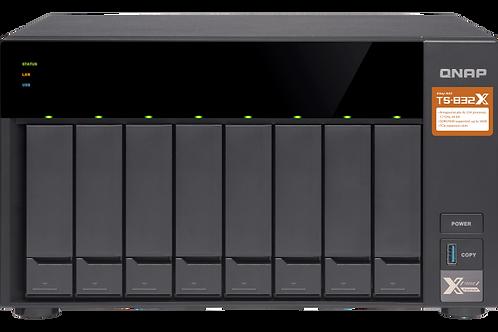 Qnap  TS-832PXU-RP-4G + RailKit