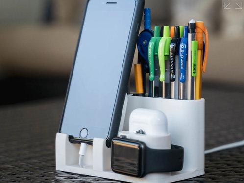 Multipurpose Apple Charging Dock 3d printed