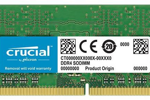 Crucial Ram 4GB DDR4 For Laptops
