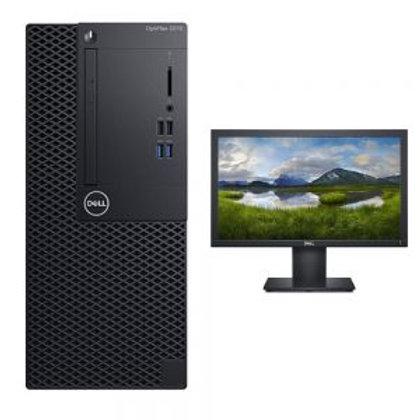 Dell Optiplex 3070:: Intel Core i3-9100 9th Gen - 3.6 GHz, 6 MB cache, 6