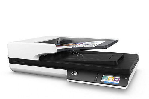 HP SJ Pro 4500 fn1 Network Flatbed Scanner