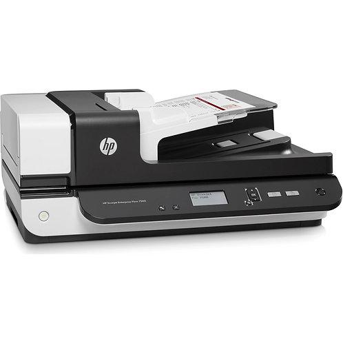 HP SJ Enterprise Flow 7500 Flatbed (L2725B) Scanner