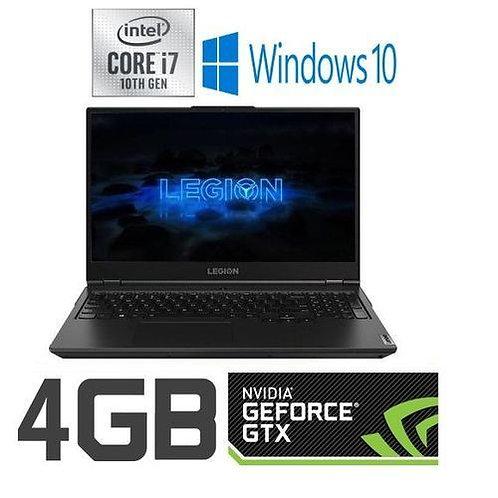 LenovoLegion5Gaming: Ci7-10750H, 16GB, 1TB + 512GB SSD, NVIDIA GTX 1650TI 4GB