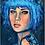 Thumbnail: CARTE LADY BLU