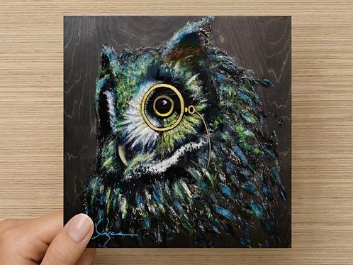 CARTE OWL GENTLEMAN