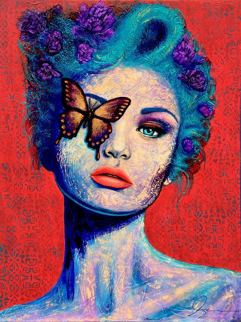 LADY BUTTERFLY No3
