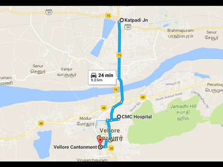 Let's visit CMC Vellore - Travel Guide